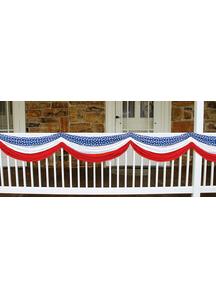 Stars Stripes Patriotic Bunting.