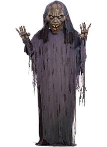 Zombie Hanging 12 Ft Prop. Halloween Props.