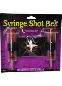 Belt And Syringe Seductress