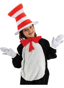 Cat In Hat Accessory Kit Child