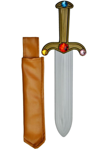 Dagger Jeweled W Sheath
