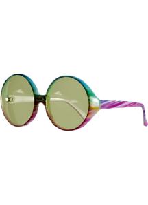 Glasses Peace Tie-Dye Multi