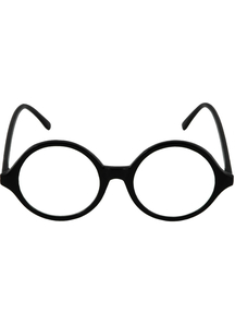 Glasses Professor Blk Clr - 15346