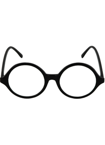 Glasses Professor Blk Clr - 15316