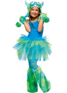 Glitter Tutu Child Green Blue