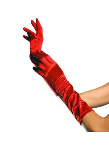 Gloves Elbow Length Black