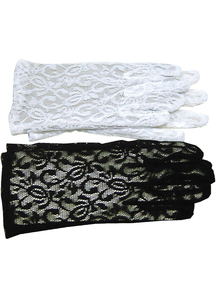 Gloves Lace Black