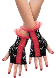 Glovettes Rd Bk Ruched Chld