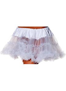 Petticoat Tutu Adult White