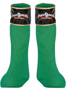 Power Rangr Grn Boot Covers