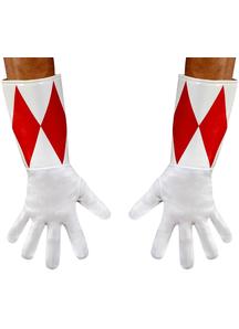 Red Ranger Adult Gloves