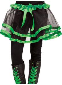 Ribbon Tutu Child Green