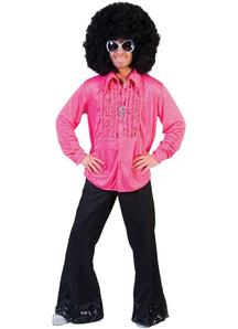 Saturday Night Adult Pink Lg