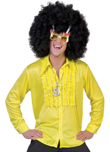Saturday Night Adult Yellow Lg