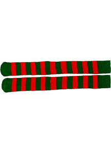 Socks Christmas Red And Green