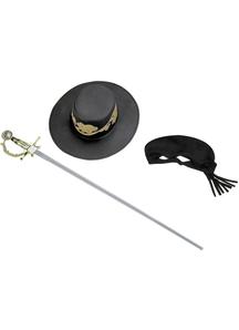 Zorro Child Accessory Set