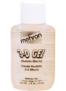 3-D Gel Clear Gelatin Effects