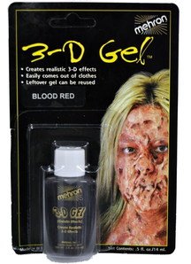 3D Gel Effects Blood