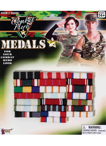 Combat Hero Medals Bars
