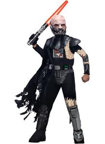 Damaged Darth Vader Child Costume