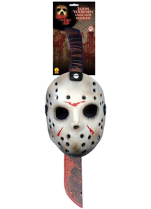 Friday 13Th Jason Mask Machete