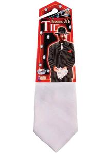 Gangster Tie White
