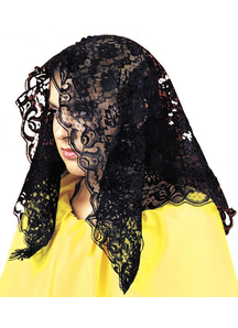 Mantilla Spanish Black