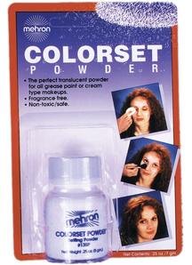 Mehron Colorset Powder Qtr Oz