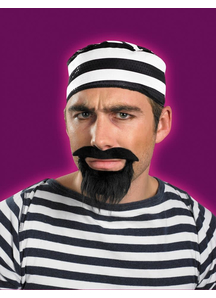 Moustache And Beard Prisoner