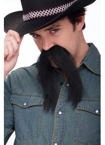Mustache The Western Black