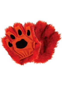 Paws Fingerless Orange