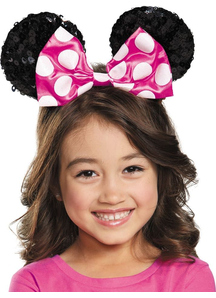 Pink Minnie Child Sequin Ears