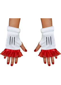 Red Minnie Child Glovettes
