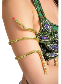 Snake Arm Band Gold