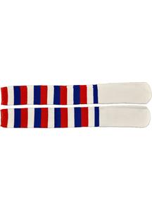 Socks Clown Red White Blue
