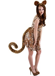 Tail Oversized Leopard Tail