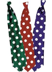 Tie Long Clown Green
