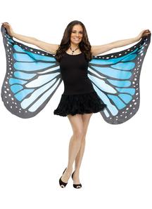 Wings Soft Butterfly Adlt Blue