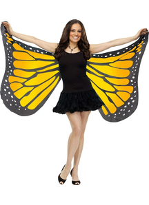 Wings Soft Butterfly Adlt Oran