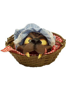 Wolf Head In A Basket
