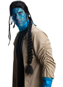 Avatar Jake Sully Wig For Adults