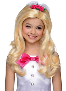Barbie Bridal Blonde Peruke