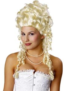 Blonde Wig For Marie Antoinette Costume