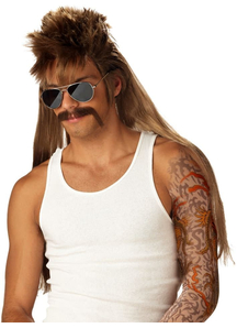 Blonde Wig For Mississippi Mudflap
