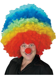 Clown Mega Wig For Adults - 17651
