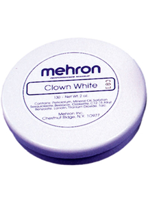 Clown White 2 Oz Mehron