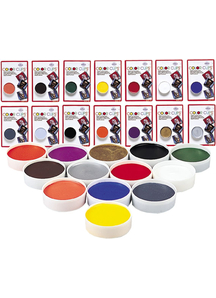 Color Cup Carded Clwn White