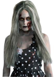Creepy Zombie Peruke For Halloween!