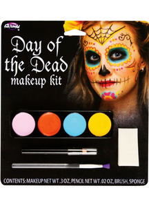 Day Of The Dead Make Up Kit Female