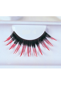 Eyelashes Black With Pink